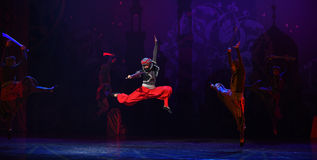 """Pirate dance- ballet """"One Thousand and One Nights"""" Stock Photography"""