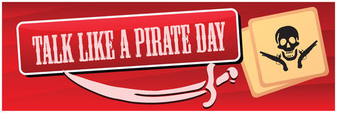 Pirate Day Stock Photos