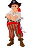 Pirate de dessin animé Photos libres de droits