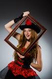 Pirate de femme Photographie stock