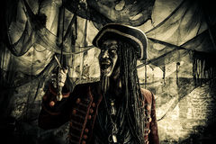 Pirate de Halloween image stock
