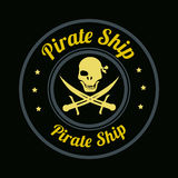 Pirate design Royalty Free Stock Photography