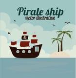 Pirate design Stock Photo