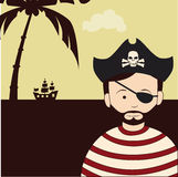 Pirate design Stock Images