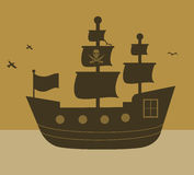 Pirate design Royalty Free Stock Images