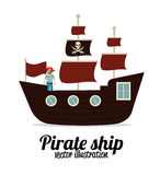 Pirate design Stock Photo