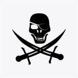 Pirate design Stock Image