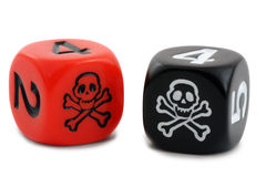 Pirate Dice Royalty Free Stock Photo