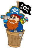 Pirate at dog watch Royalty Free Stock Photo