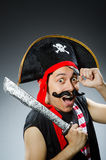 Pirate drôle Image stock