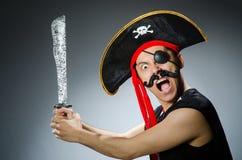 Pirate drôle Photographie stock libre de droits
