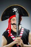 Pirate drôle Photo libre de droits