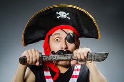 Pirate drôle Images libres de droits