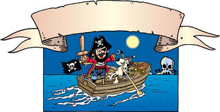 Pirate Dress Up Stock Images