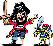 Pirate Dress Up Stock Photography