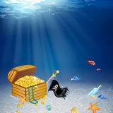 Pirate Elements Royalty Free Stock Images