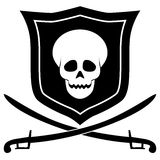 Pirate emblem Royalty Free Stock Photo