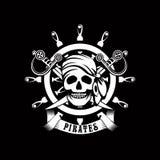 Pirate emblem Royalty Free Stock Image