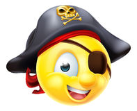 Pirate Emoji Emoticon Royalty Free Stock Image