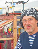 Pirate Entertainer; Tall Ships Festival. Royalty Free Stock Photography