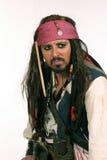 Pirate fâché photographie stock libre de droits