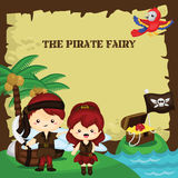 Pirate fairy Royalty Free Stock Image