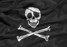 Pirate Flag 3 Stock Images