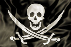 The Pirate Flag Royalty Free Stock Images