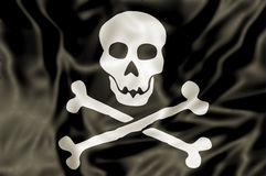 The Pirate Flag Stock Image