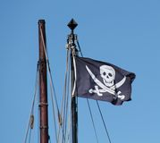Pirate Flag. Stock Photography