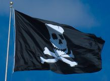 Pirate Flag (jolly roger) Stock Images