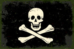 Pirate flag Royalty Free Stock Image