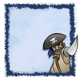 Pirate Frame Royalty Free Stock Photography