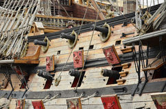 Pirate galleon Royalty Free Stock Images