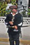 Pirate. GEORGETOWN-CAYMAN ISLAND-NOVEMBER 10: Unidentified man dress as pirate participate a the Pirates Week 2012 from 8 to 18 November on november 10 2012 in royalty free stock images