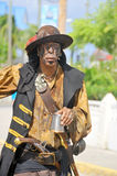 Pirate. GEORGETOWN-CAYMAN ISLAND-NOVEMBER 10: Unidentified man dress as pirate participate a the Pirates Week 2012 from 8 to 18 November on november 10 2012 in stock images