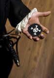 Pirate Gets Warning Royalty Free Stock Photos