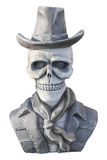 Pirate ghost statue isolate on white background Royalty Free Stock Photo