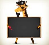 Pirate Giraffe Royalty Free Stock Photo