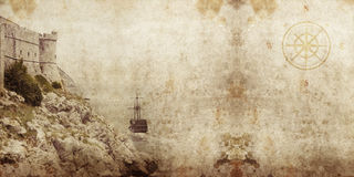 Pirate grunge Royalty Free Stock Images