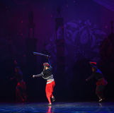 """Pirate has a knife- ballet """"One Thousand and One Nights"""" Royalty Free Stock Photos"""