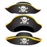 Pirate Hat Isolated Royalty Free Stock Photography