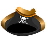 Pirate hat tricorn Stock Photo