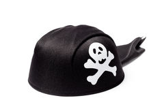 Pirate Hat On White Royalty Free Stock Photo