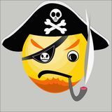 Pirate icon Royalty Free Stock Photos