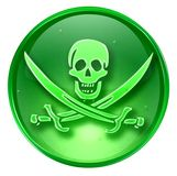 Pirate icon. Royalty Free Stock Photo