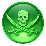 Pirate icon. Stock Photo