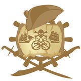 Pirate icon Royalty Free Stock Image