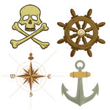 Pirate Icons Royalty Free Stock Images