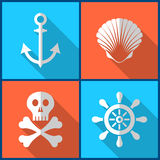 Pirate icons Stock Photos
